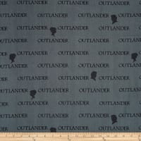 Outlander Large Logo Gray