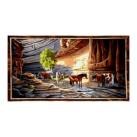 "Sundance Canyon Horse 23.5"" Panel Multi"