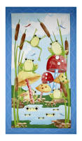 """It's a Pond Party 23.5"""" Panel Multi"""