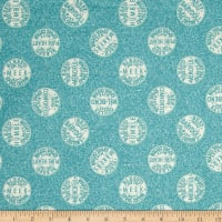 QT Fabrics Tidings Of Great Joy Bee-Attitudes Spool Tops Blue