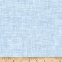 QT Fabrics Harmony Flannel Plaid Cloud Blue