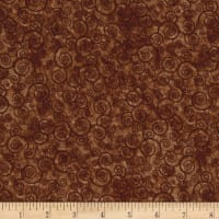 Harmony Flannel Curly Scroll Sable