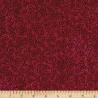 Harmony Flannel Curly Scroll Sangria