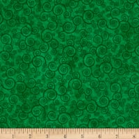 Harmony Flannel Curly Scroll Shamrock