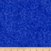 Harmony Flannel Curly Scroll Sapphire