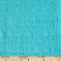 Leno Cotton Stripe Gauze Aqua