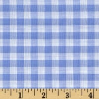 "Richcheck 60"" Gingham Check 1/4"" Blue"