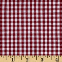 "Richcheck 60"" Gingham Check 1/8"" Berry"