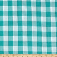 "Richcheck 60"" Gingham Check 1"" Mint"