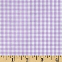 "Richcheck 60"" Gingham Check 1/8"" Lilac"