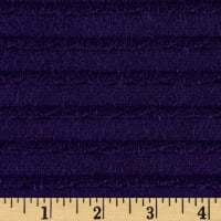 Bamboo Rayon Ruffle Knit Purple