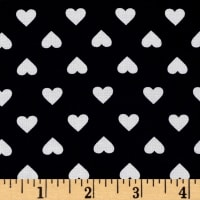 Kaufman Sevenberry Classiques Med Hearts Navy