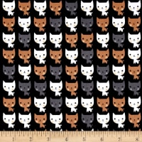 Kaufman Suzy's Minis Cats Black