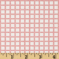 Candy Land Plaid Grid Watermelon