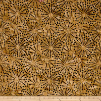 Timeless Treasures Batik Tonga Chai Fireworks Latte