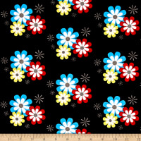 Michael Miller Summer Lovin Flower Frolic Black