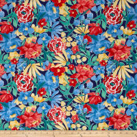 Michael Miller Meet Me In The Meadow Bloomers Navy