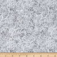 Timeless Treasures Breeze Scroll Blender Grey