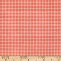 Stitcher's Garden Small Gingham Coral