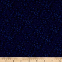 "Timeless Treasures 108"" Wide Backing Swirls Reverse Navy"