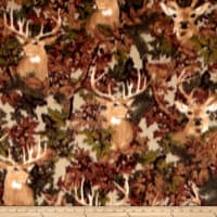 Winter Fleece Deer Camo