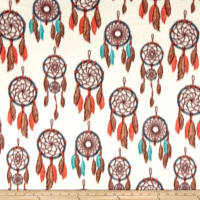 Baum Winterfleece Dreamcatcher Cream