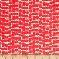 Crochet Lace Red