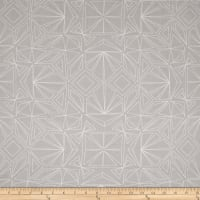 "Kaufman Fractals 108"" Wide Geo Grey"