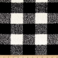 Telio Addison Plaid White/Black