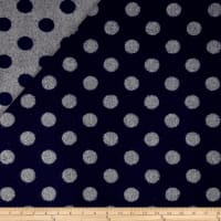 Telio Wool Polka Dot Grey/Navy