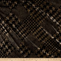 Telio Houndstooth Double Knit Gold