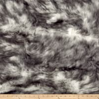 Shannon Luxury Faux Fur Candy Shag Gray