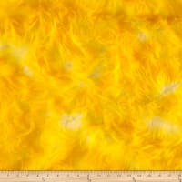 Shannon Luxury Faux Fur Candy Shag Yellow