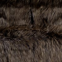 Shannon Luxury Faux Fur Fancy Ostrich Navy