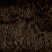 Shannon Luxury Faux Fur Fancy Ostrich Black