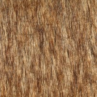 Shannon Luxury Faux Fur Tip Dyed Fox Gold
