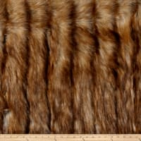 Shannon Luxury Faux Fur Wild Coyote Honey