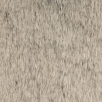 Shannon Luxury Faux Fur Tip Dyed Sable Fur Silver Frost