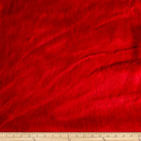 Shannon Luxury Faux Fur Sable Scarlet