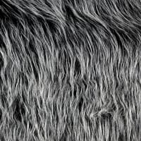 Shannon Lux Fur Monster Black Frost