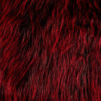 Shannon Lux Fur Monster Black Blood