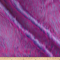 Shannon Luxury Faux Fur Falcon Purple/Pink