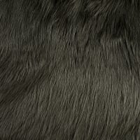 Shannon Lux Fur Arctic Fox Steel