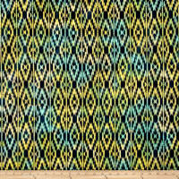 Indian Batik Sierra Nevada Southwest  Stripe Navy Multi