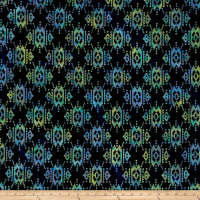 Indian Batik Sierra Nevada Southwest Navy Blue /Multi
