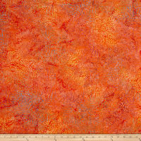 Batik Central Java Daliah  Orange/Fuchsia/Prpl