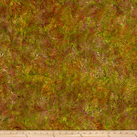 Batik Central Java Fern Green