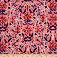 Cotton + Steel Rifle Paper Co. Les Fleurs Tapestry Rose