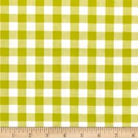 "Cotton + Steel Checkers Yarn Dyed Gingham Woven 1/2"" Citron"