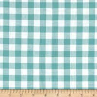 "Cotton + Steel Checkers Yarn Dyed Gingham Woven 1/2"" Story Blue"